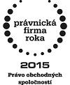 PFR 2015 - Právo obchodných spoločností