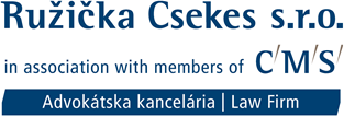 Ružička Csekes s.r.o. in association with members of CMS