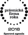 PFR 2016 - sporova agenda