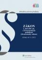 Živnostenský zákon účinný od 1. 1. 2012
