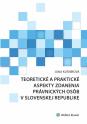Teoretické a praktické aspekty zdanenia právnických osôb v Slovenskej republike (E-kniha)