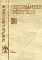 Justiniánske inštitúcie – Corpus iuris civilis