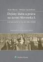 Dejiny štátu a práva na území Slovenska I.
