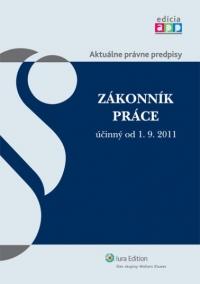 Zákonník práce účinný od 1. 9. 2011