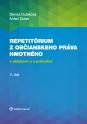 Repetitórium občianskeho práva hmotného s otázkami a s príkladmi, 2. diel.