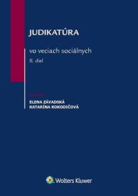 Judikatúra vo veciach sociálnych – II. diel (E-kniha)