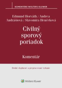 Civilný sporový poriadok. 2. vydanie - komentár